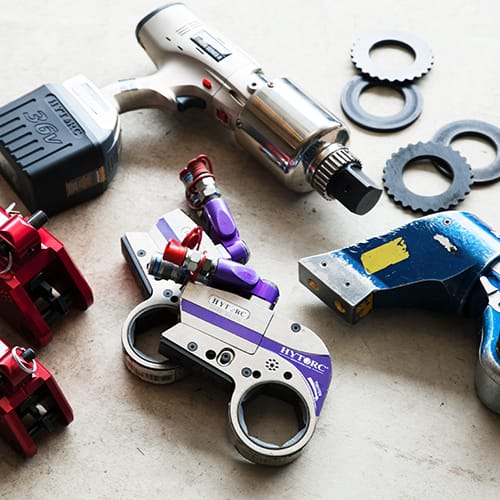 多数の特殊工具を自社で保有